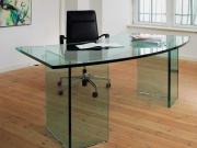 Рабочий стеклянный стол