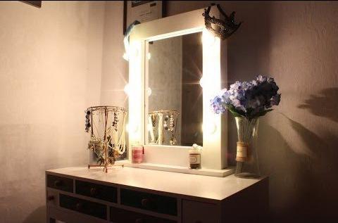 Зеркало с подсветкой в спальню