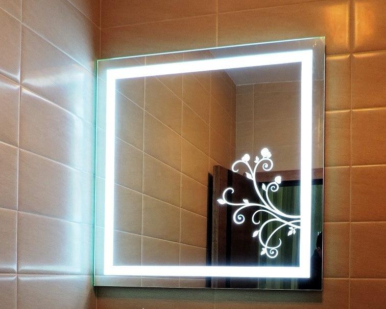 Зеркало с подсветкой на заказ в Москве