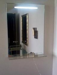 Зеркало с подсветкой в коридор