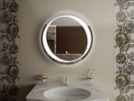 Зеркало круглое в ванную комнату